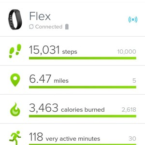 I even use my FitBit to track my steps!