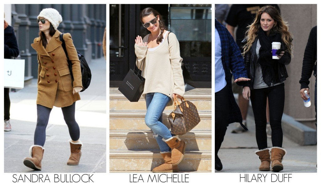 6 Ways Celebrities Are Wearing Uggs and Leggings